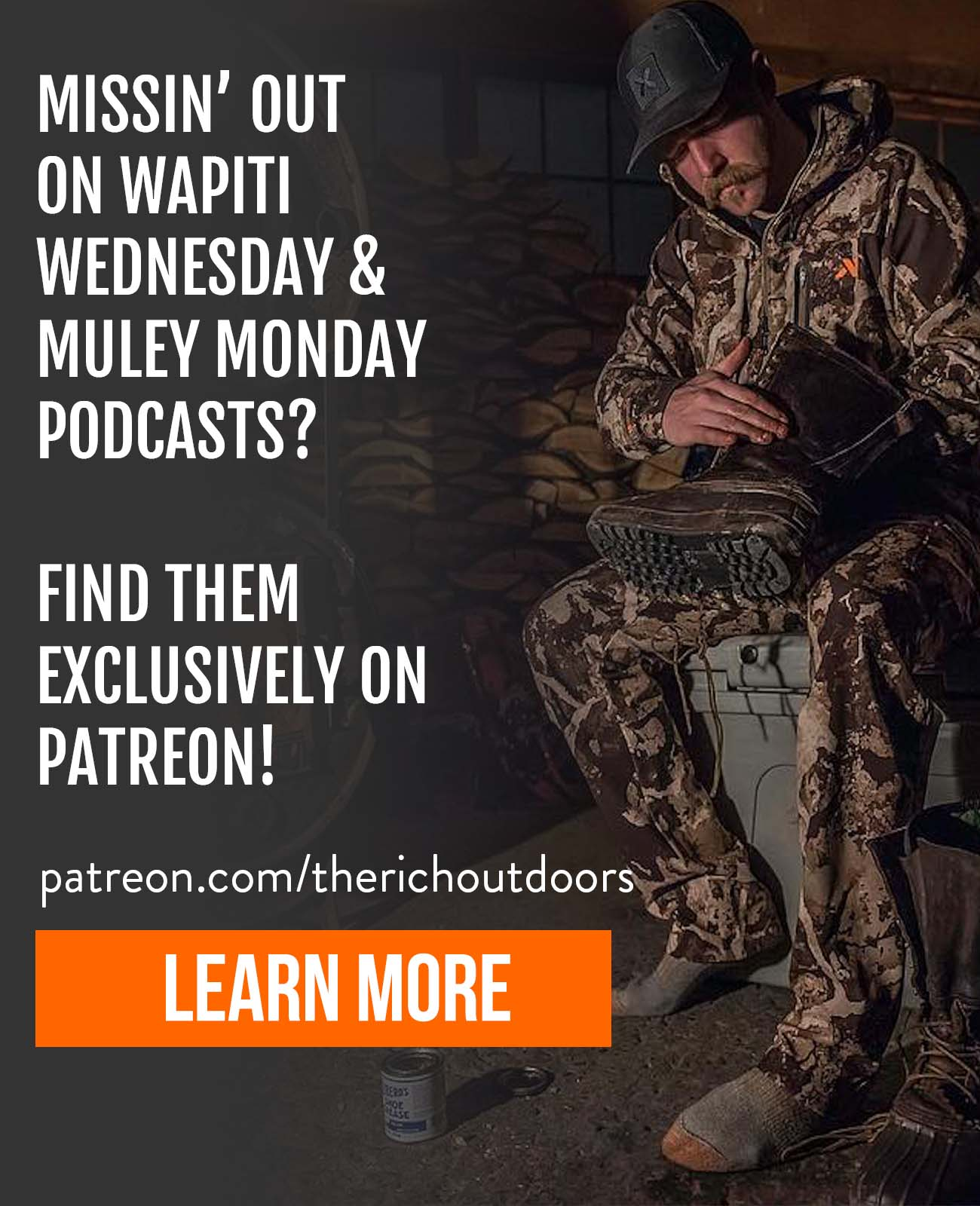 Patreon Web Banner Ad
