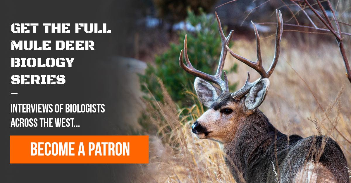 Mule Deer Bio Series Patron